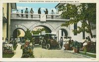 Entrance to Main Quarters, House of David, Benton Harbor, Mich.