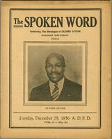 Spoken word, vol. 03, no. 21 (December 29, 1936)