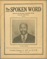 Spoken word, vol. 03, no. 23 (January 05, 1937)