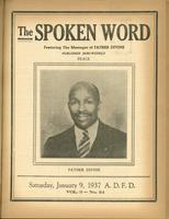 Spoken word, vol. 03, no. 24 (January 09, 1937)