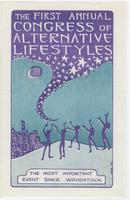 First annual congress of alternative lifestyles