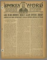 Spoken word, vol. 01, no. 05 (November 12, 1934)