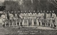 House of David ball team, Benton Harbor, Michigan [front]