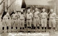 House of David baseball players [front]
