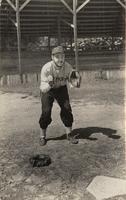 Lloyd Dalager, House of David baseball player, Benton Harbor, Michigan [front]