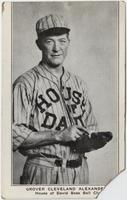 Grover Cleveland Alexander, House of David base ball club [front]