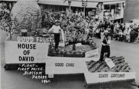 Float First Prize Blossom Parade 1961 [front]