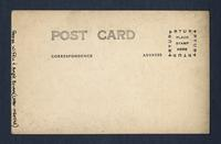 Portrait of George Whiffin and Angie Bowers, House of David, Benton Harbor, Michigan [back]