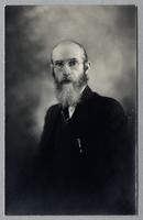 Portrait of Walter Scott, House of David, Benton Harbor, Michigan [front]