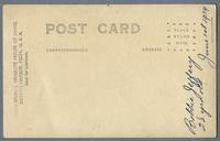 Portrait of Bobby Jeffery as a boy, House of David, Benton Harbor, Michigan [back]