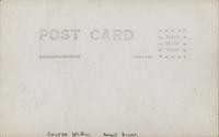 Portrait of George Whiffen and Angie Bowers, House of David, Benton Harbor, Michigan [back]