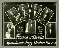 House of David Symphonic Jazz Orchestra -- Singing, Dancing Specialties -- Latest Popular Hits