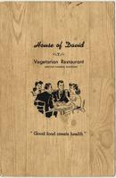 House of David Vegetarian Restaurant menu