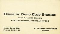 House of David Cold Storage
