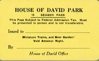 House of David Park 19 season pass