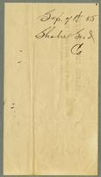 Bill of Sale of the Shaker Seed Company, Mount Lebanon, New York [side 2]