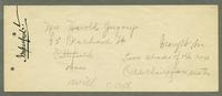 Receipt for R.M. Wagan & Co., Pittsfield, Massachusetts [side 2]