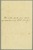 Bill of Sale of A.J. White, New York (Includes Envelope) [side 2]