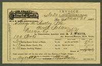 Bill of Sale of A.J. White, New York