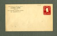 Envelope of Clarissa Jacobs, Mt. Lebanon, New York