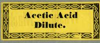 Acetic Acid Dilute