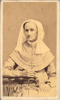 Unidentified woman, a member of a Shaker community