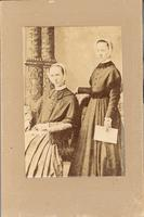 Mary Louisa Wilson and Helen Taber [front]