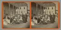 Group of Shakers from Alfred, Maine visiting Old Orchard Beach [front]