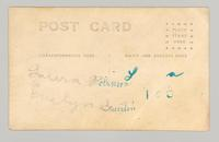 Laura Robinson and Florence Evelyn Guertin, Canterbury, New Hampshire [back]