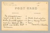 Shaker sister with turkeys and chicks, Shaker Village, Canterbury, New Hampshire [back]