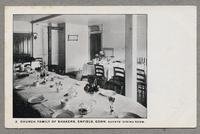 Church Family of Shakers, Enfield, Conn. Guests' dining room