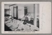 Church Family of Shakers, Enfield, Conn. [front]