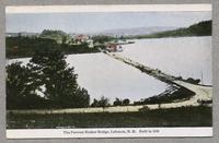 Famous Shaker Bridge, Lebanon, N.H. Built in 1848 [front]