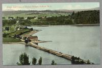 Bird's Eye View of Shaker Bridge, Enfield, N.H. [front]