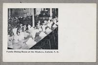Family Dining Room at the Shakers, Enfield, N.H. [front]