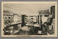 Interior of Shaker Gift Shoppe, Hancock, Mass.