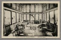 Interior of Summer House at Shakers, Hancock, Mass.