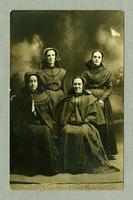 Agnes, Emoretta, Josephine Hewett, Abbie Bartlett [front]