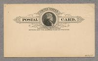 Postcard from the Office of Shaker Seed Company, Mt. Lebanon, New York [back]