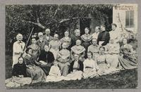Group of Shakers, Mt. Lebanon, N.Y.; North Family [front]