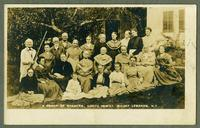 A Group of Shakers, North Family, Mount Lebanon, N.Y.