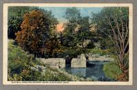 Old Mill remains, Shaker Lakes, Cleveland, Ohio [front]
