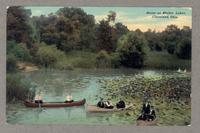 Scene at Shaker Lakes. Cleveland, Ohio [front]
