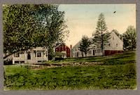 Cottages Nos. 1 and 3 and Cook House., Industrial School for Boys. Shirley, Mass. [front]
