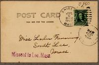 Caroline Gordner's Holiday House for Girls, P.O. address Shirley, Mass. [back]