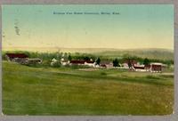 Birdseye view Shaker Community, Shirley, Mass. [front]