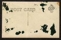 Automobile and Shaker villagers in front of Post Office, Sabbathday Lake, Maine [back]