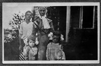 Eldress Polly Lee and Ralph Hulth, Greta and Else, Watervliet, New York