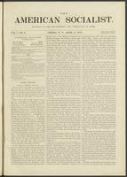 American socialist, vol. 01, no. 02 (April 6, 1876)
