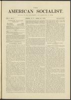 American socialist, vol. 01, no. 05 (April 27, 1876)